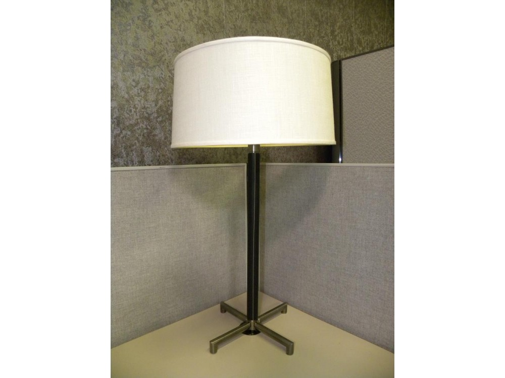 Nt451 Lange Leather Collectable Table Lamp