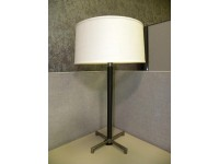 Used Nessen Lighting NT451 Lange Leather Collectable Table Lamp
