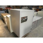 Used Fire King Brand DM3420 Model 3-Hour Rated Media Safe with Digital Lock, Putty