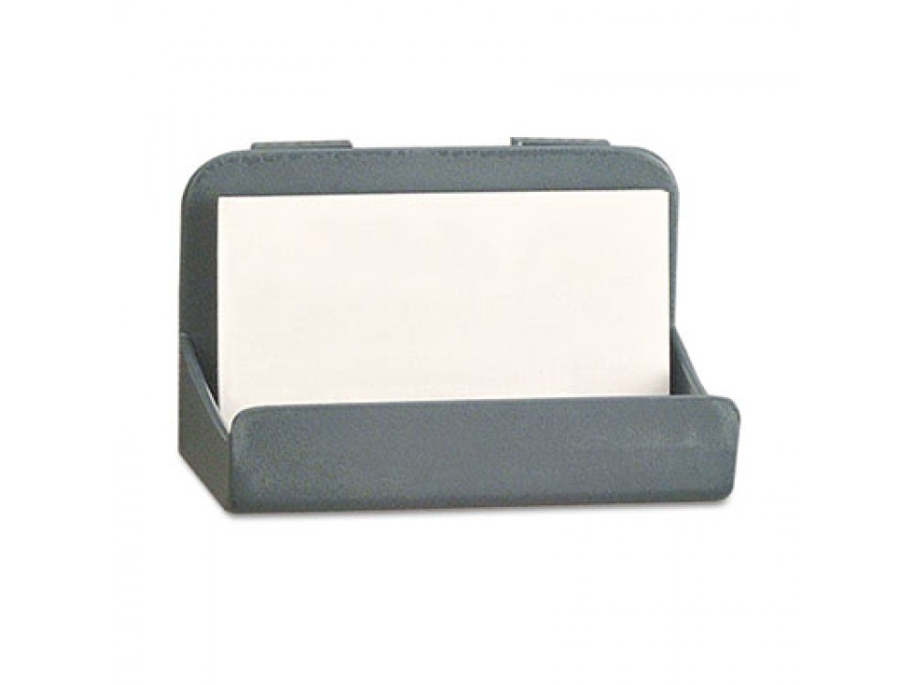 Recycled Plastic Cubicle Business Card Holder, 4 x 2 1/4 x 2 3/8 ...