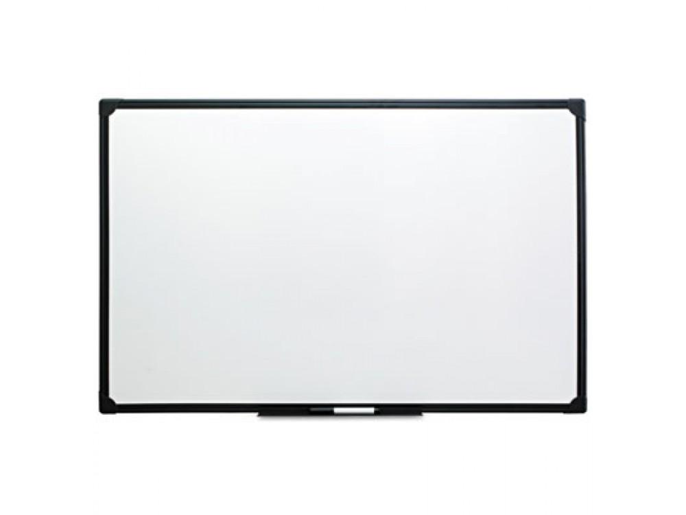 Dry Erase Board, Melamine, 48 x 36, Black Frame, New