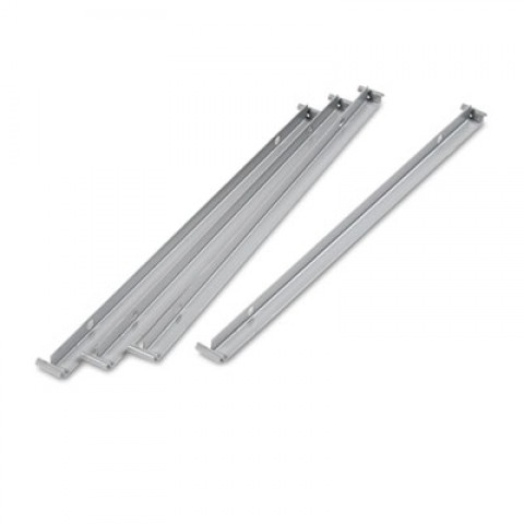 "Two Row Hangrails for 30"" or 36"" Files, Aluminum, New"